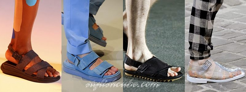 Summer 2014 Men's Sandals Fashion Trends