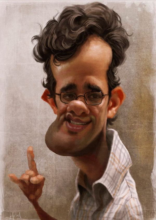 Image for Imagination: Digital Caricature by Mad Scientist ...