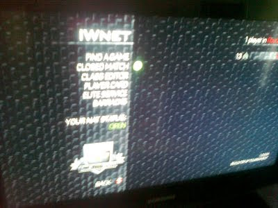 MW3 multiplayer menu