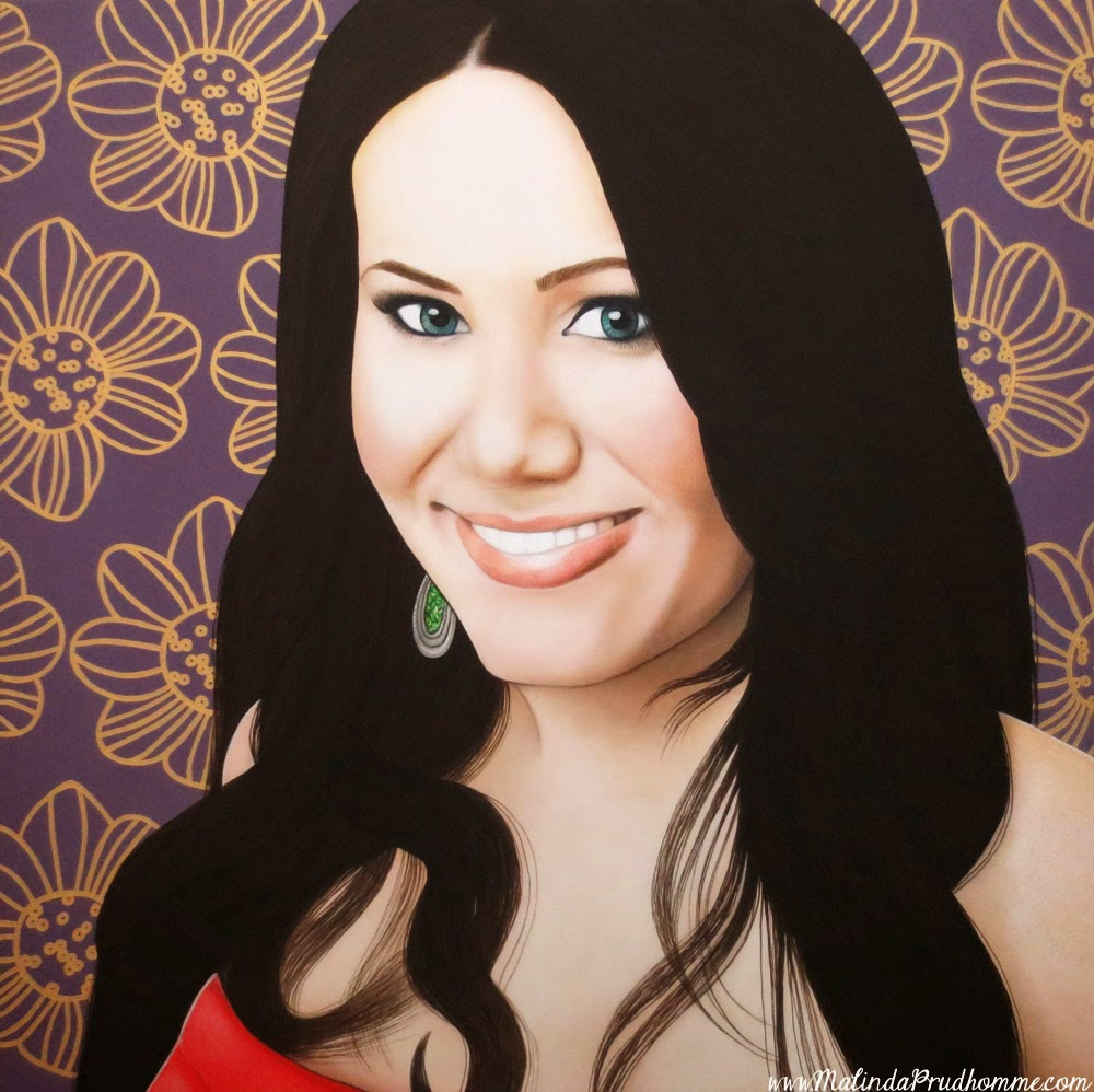 flower art, palestinian beauty, beauty art, true beauty, malinda prudhomme, portrait art, toronto portrait artist, realism, portrait painting, canadian artist, realistic portraiture