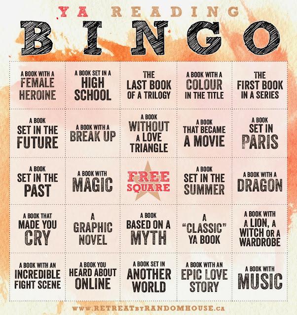 Bingo literatura juvenil 2015