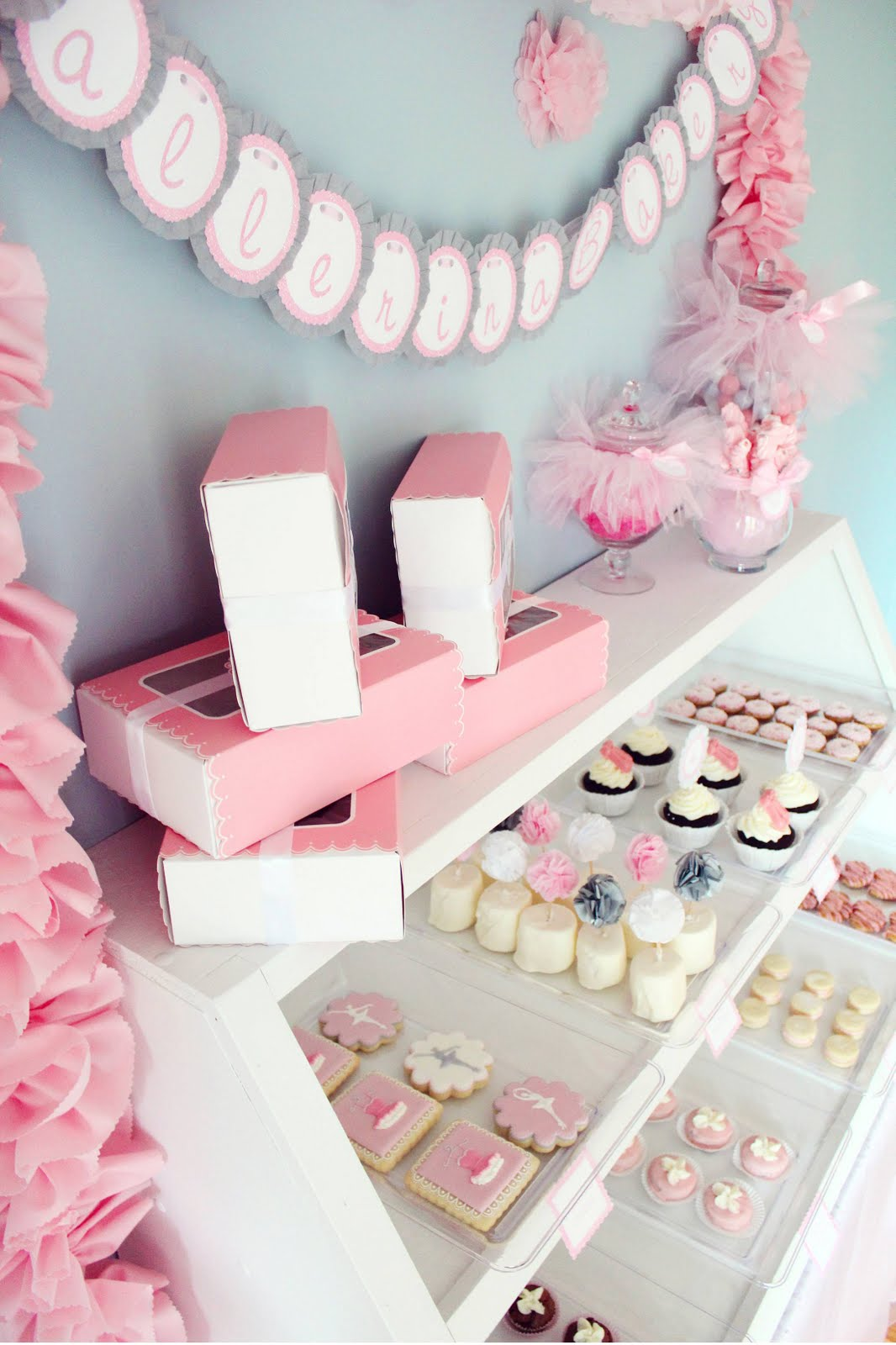 Icing Designs: Ballerina Bakery Birthday Party Part 1