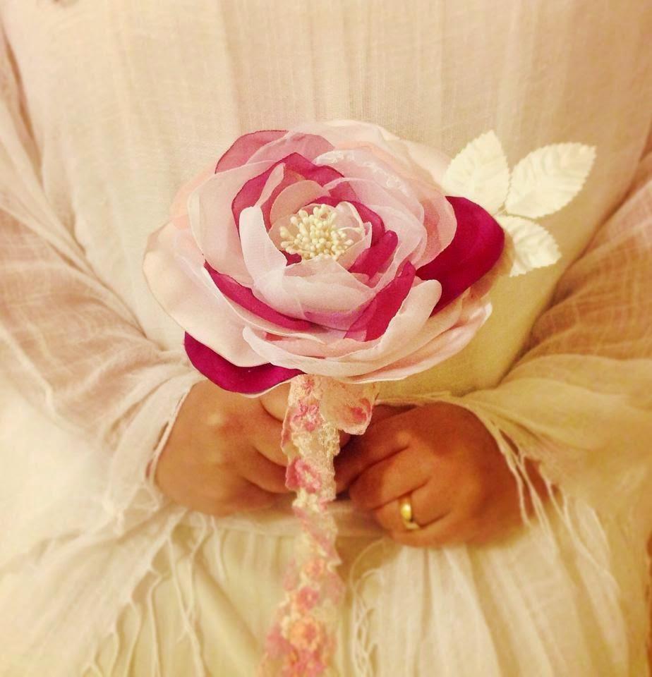 Bouquet de noiva de uma só flor