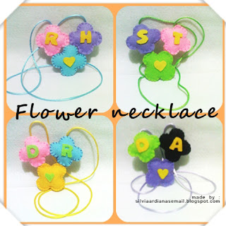 membuat kalung-kalung cantik berbentuk bunga darikain flanel Kerajinan Tangan Dompet Dari Kain Flanel Mebel Murah