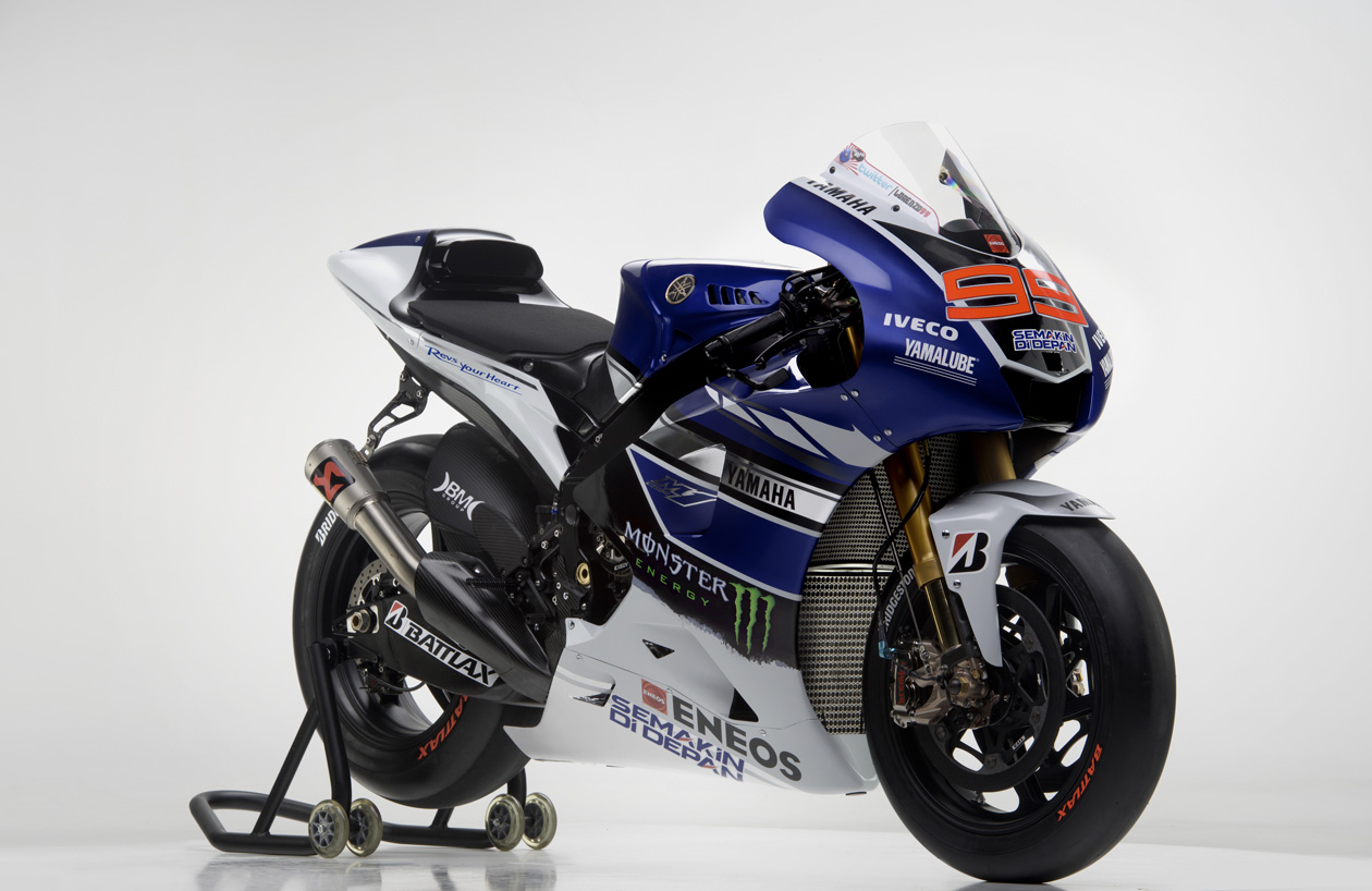 Racing caf yamaha yzr m1 team yamaha factory racing 2013 for Yamaha racing team