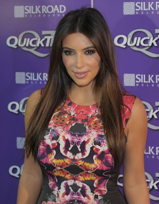Kim Kardashian promote weight loss product Quick Trim in Melbourne - Beautiful Female Photos
