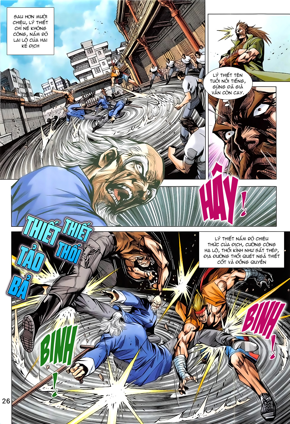 Tân Tác Long Hổ Môn chap 793 Trang 26 - Mangak.info