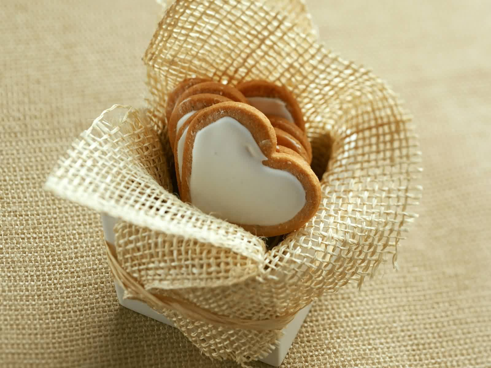 Chocolate In Heart Shape