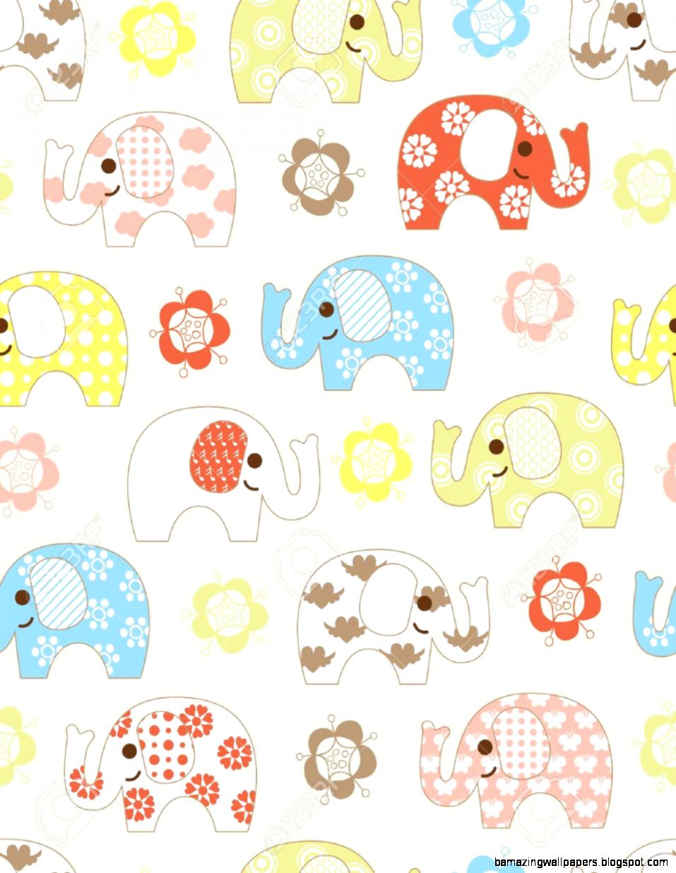 Cute Animated Elephant Wallpaper Amazing Wallpapers