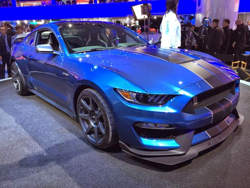 Ford Kicks Off NAIAS with Trio of Performance Vehicles