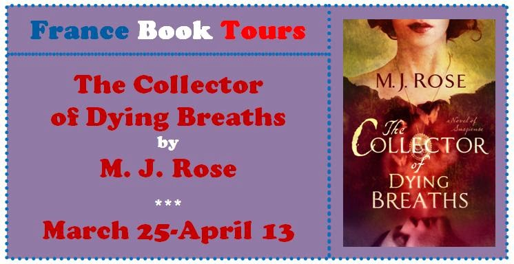 France Book Tours, The Collector of Dying Breaths