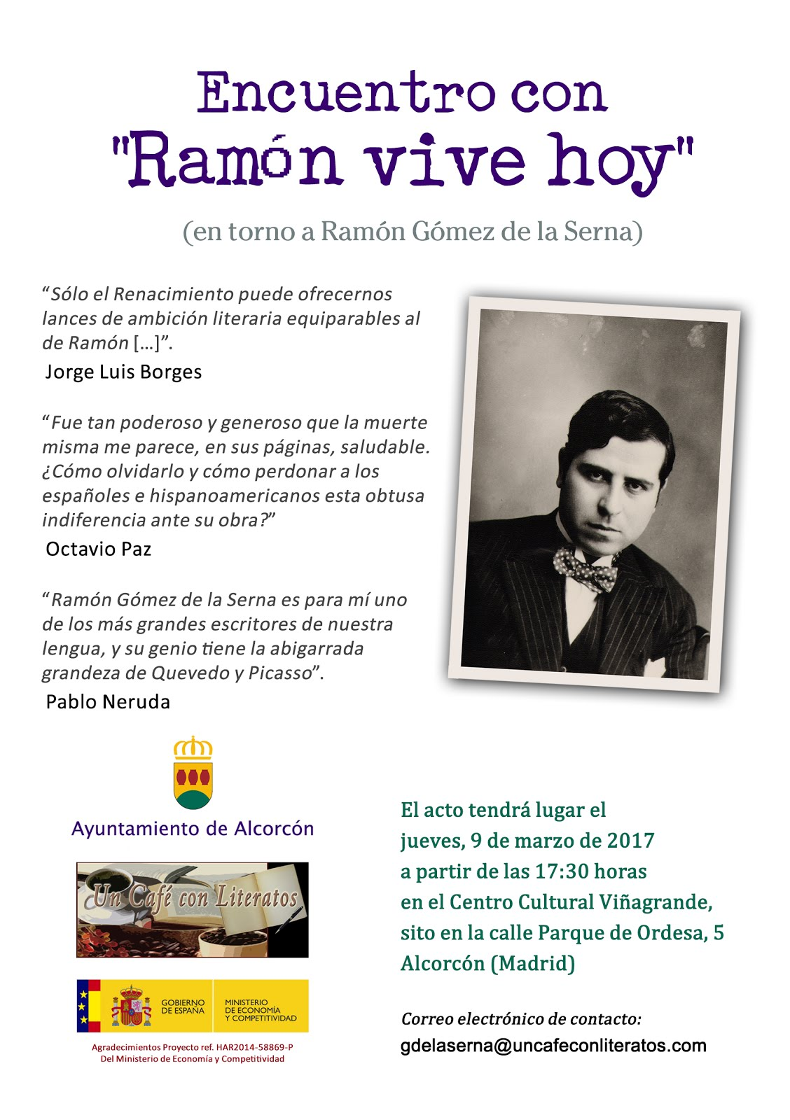 "Encuentro ""Ramón vive hoy"""