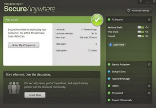 Webroot SecureAnywhere Antivirus 2014 License Code Free For 2Years