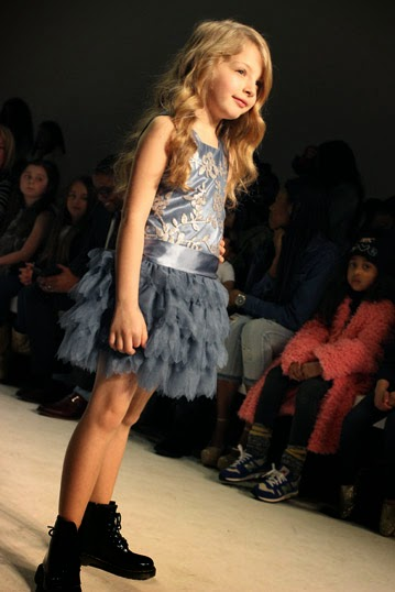 Chichi Mary | petitePARADE Fashion Show Fall 2015: Biscotti and Kate Mack Cinderella-inspired dress