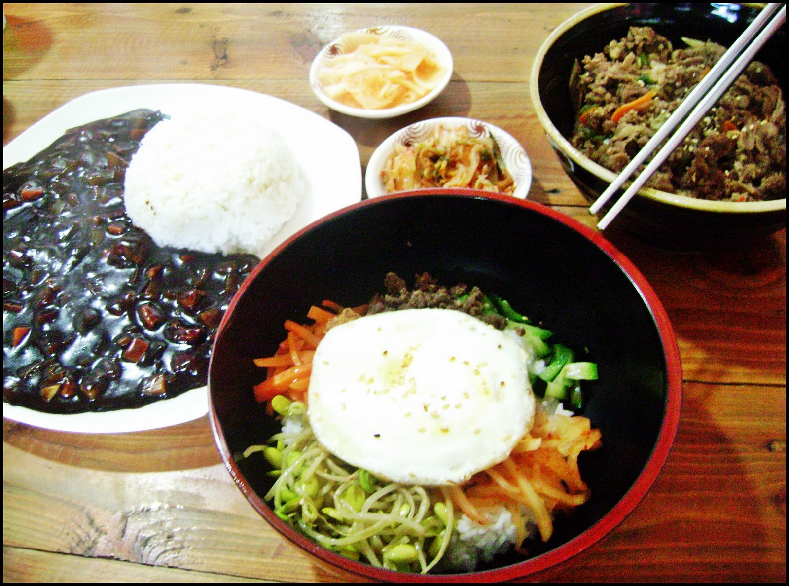 Authentic korean foods in santorini korean restaurant for Authentic korean cuisine