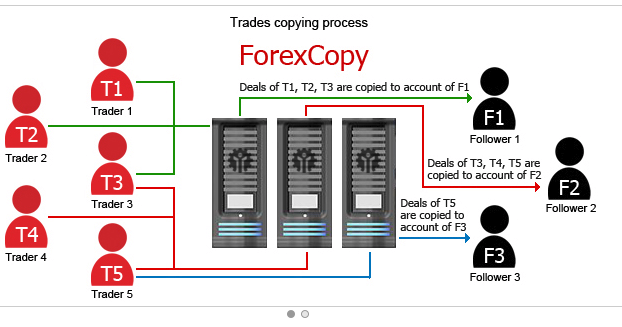 Forexcopy system