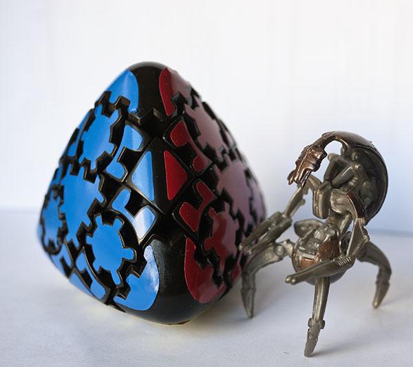 Gear Mastermorphix rubik Robot Star Wars