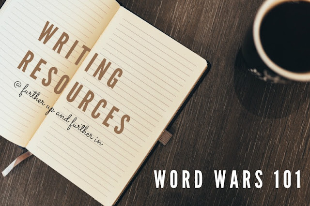 Writing Resources: Let's Talk About Word Wars