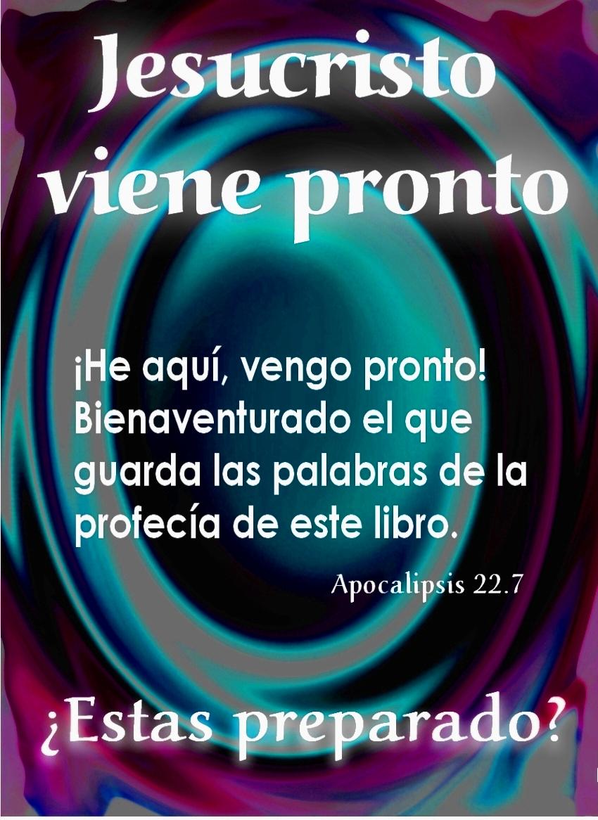 Resultado de imagen para APOCALIPSIS 22:7