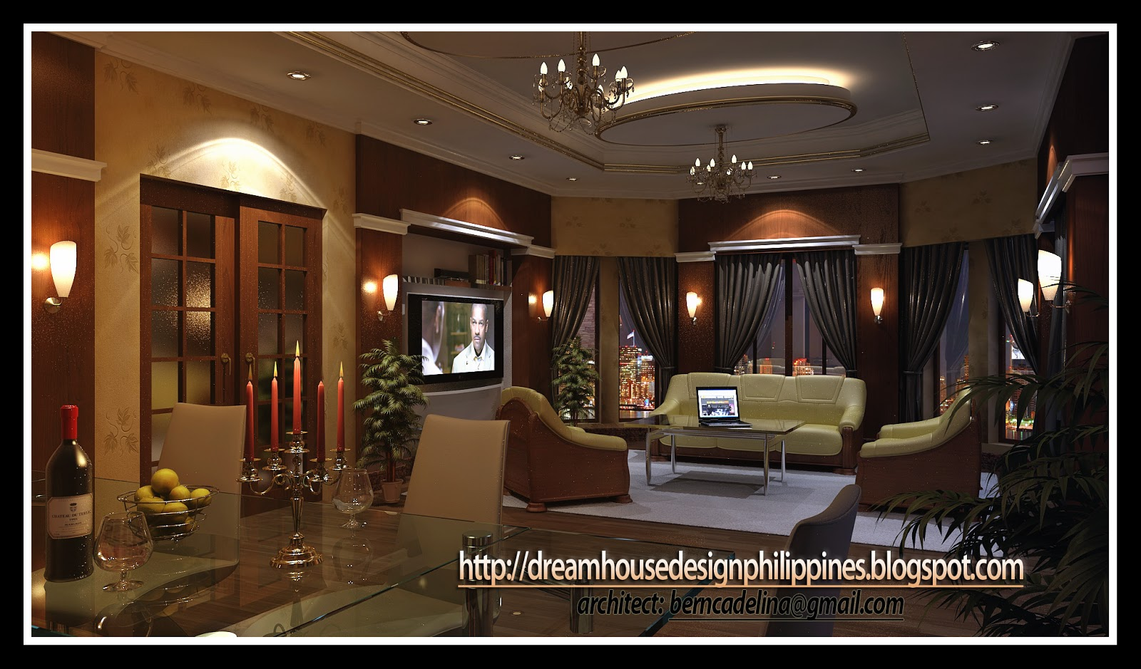 Philippine dream house design may 2011 for Interior design philippines