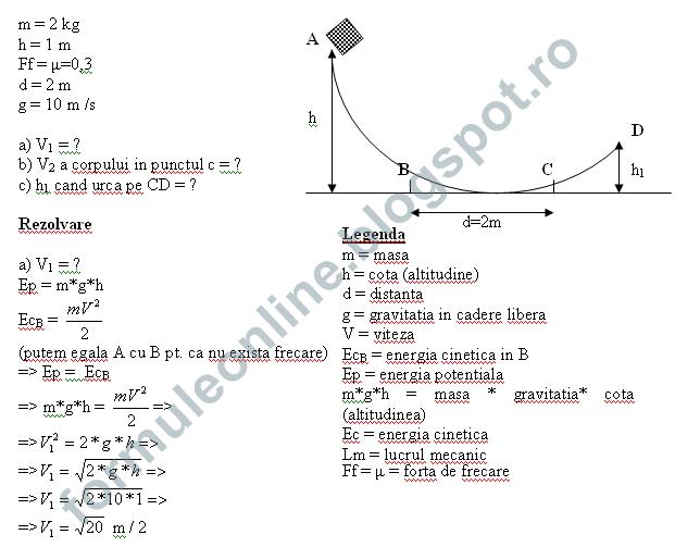 probleme fizica clasa a9a rezolvate
