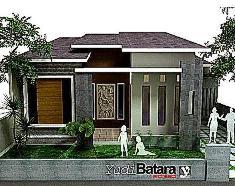 Gambar Model Tiang Teras Depan Rumah Minimalis Modern