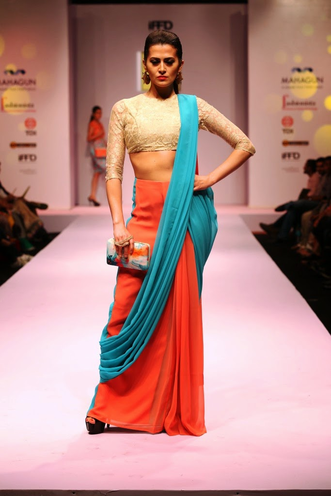 Subhi Jain - Day 2 Gen Next IRW 2015, India runway week 2015, Surbhi jain collection