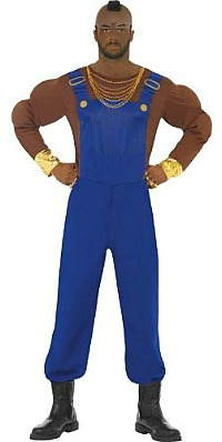 Mr T Fancy Dress Costume