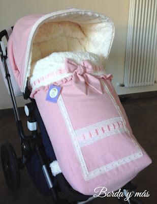 vestidura paño rosa bugaboo