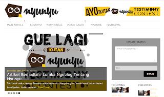 Nyunyu.com Websitenya Anak Muda