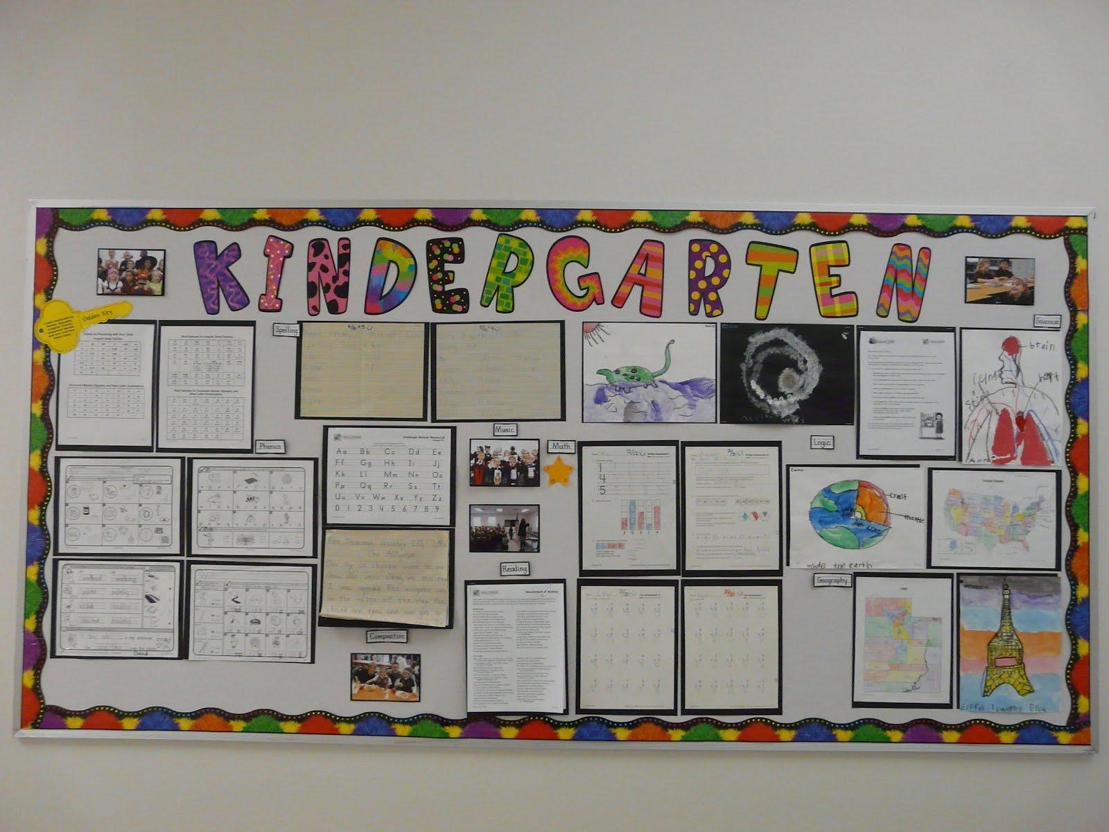 Bulletin Board Ideas: Kindergarten - Fall 2011