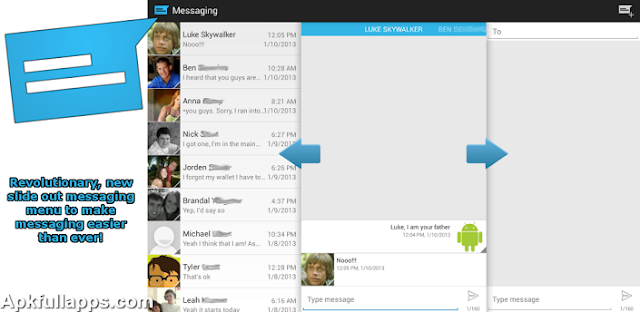 Sliding Messaging Pro v4.281