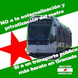 No a la privatización del Metro. Si a un transporte público más barato