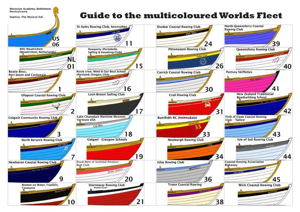 Maine Heraldry Rowing Club Colors