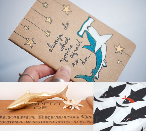 Etsy Finds: Amazing Animals of the Ocean - Sharks!