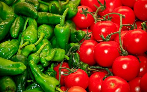 Las recetas de alberto reina gazpacho de sandia for Plantar pimientos y tomates