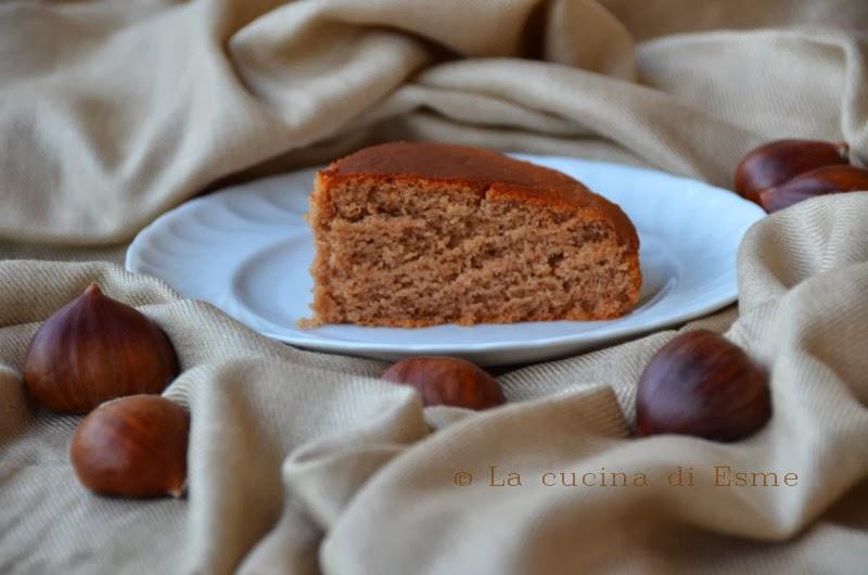cake gluten free alla castagna
