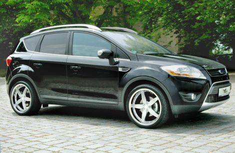 2011 Ford Kuga Black
