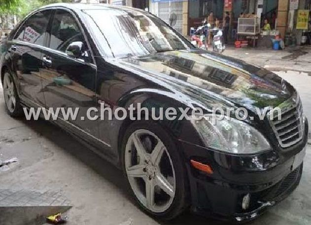 Cần thuê xe cưới Mercedes S65 AMG