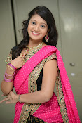 Sandeepthi Gorgeous in Designer Saree-thumbnail-5