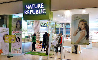 Nature Republic in SM North EDSA