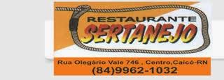 Restaurante Sertanejo - Rua Olegário Vale - 9962 1032