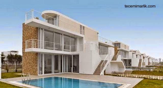 Casas dúplex contemporáneas en Turquía