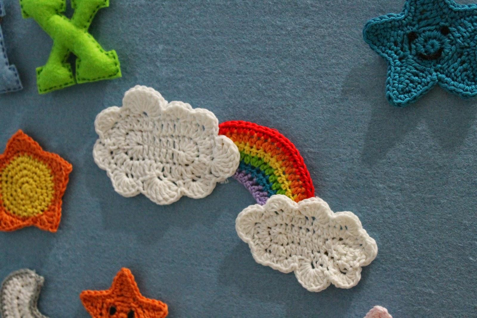 Amigurumis crochet arcoiris : El desvÁn de los amigurumis
