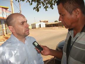 Lucio Mauro secretario de meio ambiente  ,  atuante e parceiro do governo.