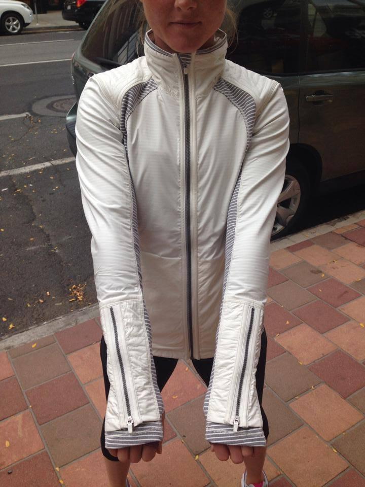 lululemon rebel runner jacket white