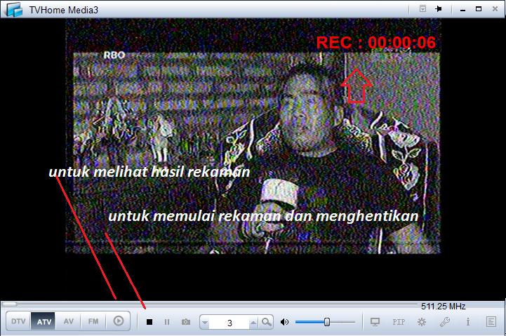rekaman tv gadmei