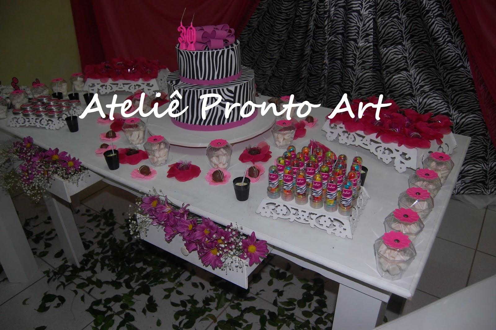decoracao festa zebra pink ? Doitri.com