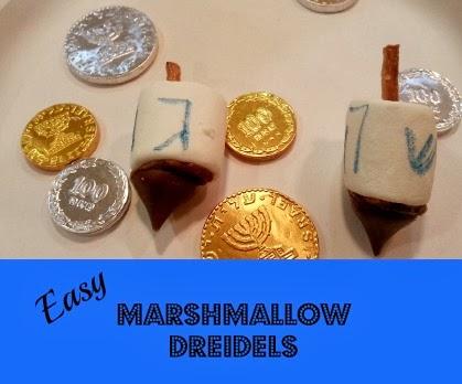 Hanukkah Marshmallow Dreidels Recipes — Dishmaps