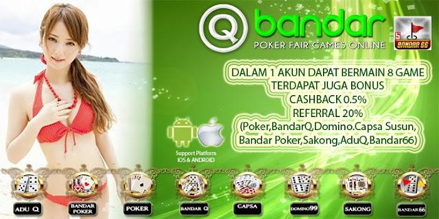 Image of Promo Bonus Cashback 2x Judi Bandar66 Situs QBandar